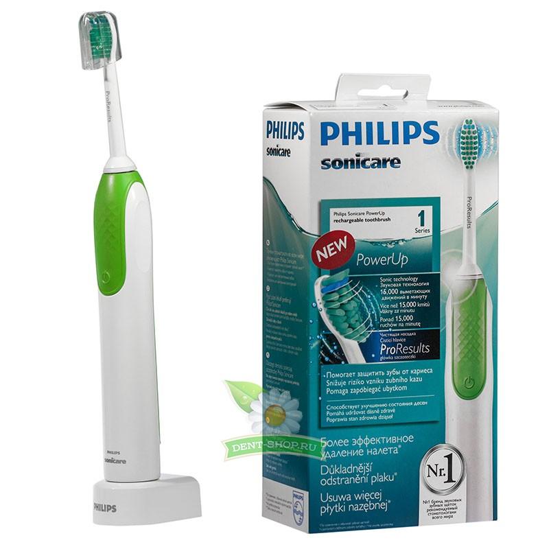 Электрическая зубная щетка philips sonicare