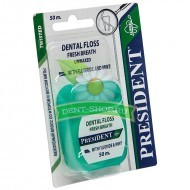 President Dental Floss Fresh Breath, свежее дыхание, 50 м